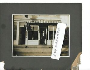 ANTIQUE PHOTO, W.W. CONNOR FUNERAL HOME