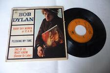 "BOB DYLAN""RAINY DAY WOMEN-DISCO 45 GIRI 7'EP(3 BRANI)CBS France 1866"""
