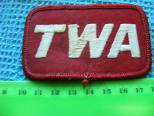 Vintage TWA Embroidered Patch.