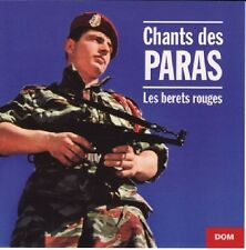 Chants des PARAS / Les Bérets Rouges / (1 CD) / NEUF