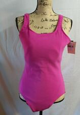 SWIMSUIT~LL BEAN~COMPLETELY LINED~SIZE 18 LONG~PINK ~NWT