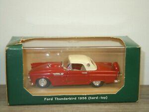 1956 Ford Thunderbird Hard Top - Rio Italy 1:43 *52457