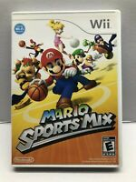 Mario Sports Mix - Nintendo Wii - Fun Kids Game - Complete w/ Manual - Tested