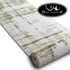 Modern Amazing very thick Runner Rugs 'DIZAYN' green Width 80-120cm extra long