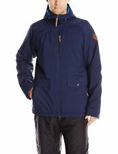New Mens O'Neill Temptest Snowboarding Ski Jacket Size M Ink Blue Retail $200