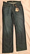 NWT CABELA'S Womens Relaxed Fit Jeans-Size 6 Regular-Dark Blue-MSRP $39.99