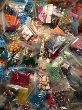 Huge Assortment Lot of Mixed Jewelry Making Supplies Crafts and Beads! 15 Bags!