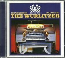 THE WONDER OF THE WURLITZER VOLUME TWO (2) CD - HAROLD RAMSAY & MORE