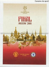 N°555 POSTER # FINAL 2008 MOSCOW UEFA CHAMPIONS LEAGUE 2011 STICKER PANINI