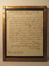 PRE REVOLUTIONARY BOSTON MA 1760 GREAT FIRE REFERENCE POOR LETTER EDWARD KING