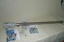 Finish Thompson Stainless Steel  SS Drum Pump & Motor New In Box PFS-40 M3V