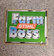 STIHL  029 039  MS290 MS310 MS390  FARMBOSS STICKER DECAL NEW