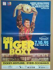 DARIUSZ MICHALZEWKSI  1995  WM WBO - orig. Box Poster - WM Plakat  A1  NEU