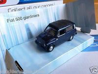 FIAT AUTOBIANCHI 500 GIARDINIERA 1/43 VINTAGE MONDO MOTORS VINTAGE metal die cas