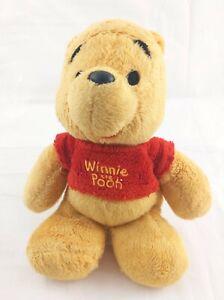 "Winnie the Pooh Bear 8"" Beanie Plush by Posh Paws USED"