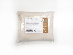 CALCIUM CARBONATE 1kg - GROUND LIMESTONE FLOUR