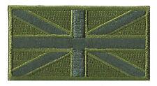 Patche écusson Union Jack British basse visibilité patch armée brodé