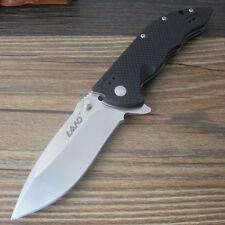Sanrenmu LAND 9054LUC-GH Liner Lock pocket knife Black G10 Handle Folding Knife