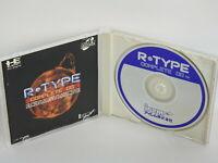 R TYPE Complete CD Ref/ccc PC-Engine SCD PCE Grafx Japan pe