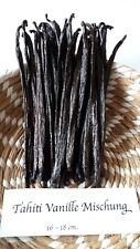 Vanilleschoten, Tahiti Vanille,  25 g  typisches kräftiges Aroma, 14-17 cm lang,
