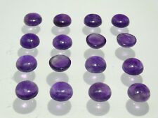 Amethyst 100% Natural 14mm Round Cabochon Shape A Quality Loose Gemstone