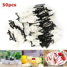 50Pcs Plastic Disposable Mini Shovel Spoon Cake Ice Cream Dessert Spoon Party