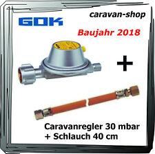 Druckregler für Caravan Wohnmobil 30 mbar + Schlauch 40 cm, Wohnwagen, Gas 2018