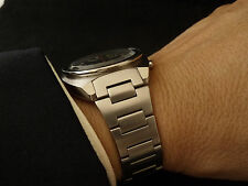 "Solid Link Tapered H-link Bracelet for the 6139 SEIKO ""Pepsi"" Chronograph"