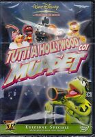 Dvd Disney **TUTTI A HOLLYWOOD COI MUPPET** nuovo 1979