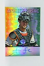 2011 Leaf Valiant Draft #AS1 Andrew Susac Auto Autograph Brewers