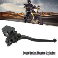 """MOTORBIKE SCOOTER FRONT RIGHT HYDRAULIC BRAKE MASTER CYLINDER CLUTCH LEVER 7/8"""""""