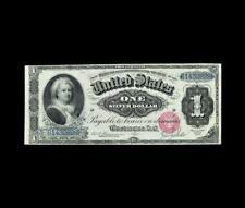 RARE 1886 $1 SILVER CERTIFICATE MARTHA EXTRA FINE