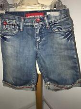 coole Miss Sixty Short Jeans Jeansshort  mit Kussmund 104
