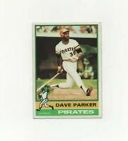 1976 Topps Dave Parker Baseball Card #185 - Pittsburgh Pirates HOF