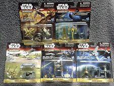 Star Wars Micro Machines GOLD SERIES 5 Set Lot MOC Factory Sealed Force Awakens