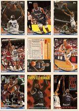 1993-94 Topps Orlando Magic Master Team Set (16)