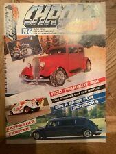 Chrom & Flammen Nr.6 Juni 1986 VW Käfer Dragster Mercury Coupé Rod Peugeot