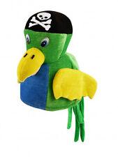 Multi couleur perroquet oiseau chapeau unisexe enfants adultes cosplay accessoire robe fantaisie