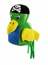 Multi Coloured Parrot Bird Hat Unisex Kids Adult Cosplay Accessory Fancy Dress