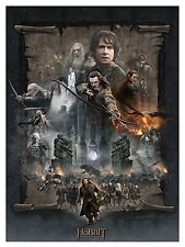 The Hobbit: The Battle of the Five Armies Paper Giclee by Jerry VanderStelt