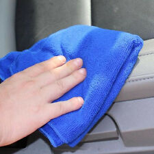 2pcs Microfiber Towel Water Car Dry Clean Absorbant Cleaning Cloth Random Color