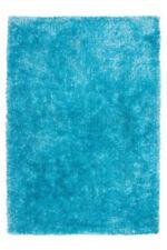 Tapis bleu rectangulaire pour la maison, 250 cm x 350 cm