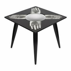 FORNASETTI Magic Mani Table - Black ~ NEW