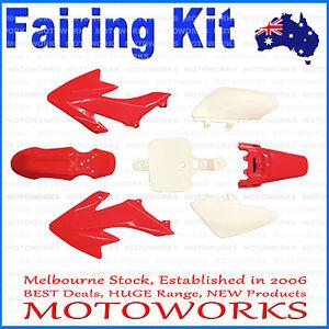 Plastics Guard Fairing Fender Kit CRF50 Style 125cc PIT PRO Trail Dirt Bike RED