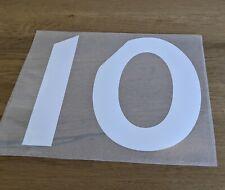 Patch Maillot rugby RC Toulon / RCT Top 14 Flocage Numéro Blanc