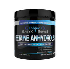 Genomyx Basyx Series Betaine Anhydrous (50 Servings) Increase Muscle Endurance