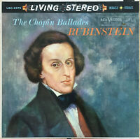RCA LIVING STEREO LSC-2370 *SHADED DOG* THE CHOPIN BALLADES *1S/1S* NM/NM