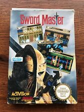 Sword Master PAL NES Nintendo Empty Box Only