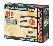 Kato N Scale Unitrack Basic Oval Track Set with Power Pack 20-850-1 NEW