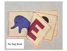 Bambini piccoli Rag LIBRO Vintage Sewing Pattern (non articolo finito)
